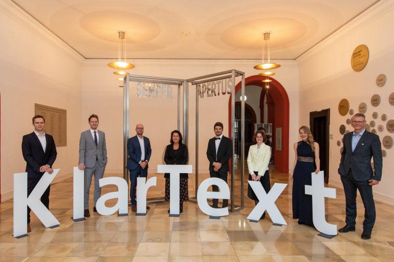Gewinnerinnen und Gewinner des KlarText-Preises 2020
